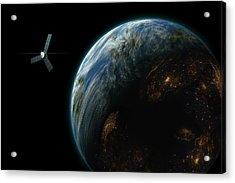 Satellite Planet  Acrylic Print