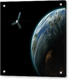 Satellite Planet No.2 Acrylic Print
