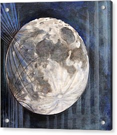 Satellite  Acrylic Print by Stacey Sherman