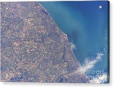 Satellite View Of St. Joseph Area Acrylic Print by Stocktrek Images