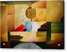 Satori Acrylic Print by Laurend Doumba