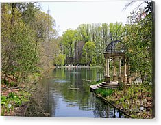 Saturday Afternoon At Longwood Gardens Acrylic Print by Trina  Ansel