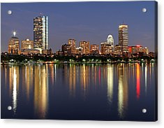 Saturday Night Live In Beantown Acrylic Print
