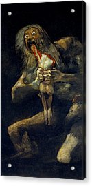 Saturn Devouring His Son Acrylic Print