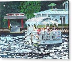 Saugatuck Chain Ferry Acrylic Print