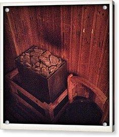 Sauna Time  Acrylic Print