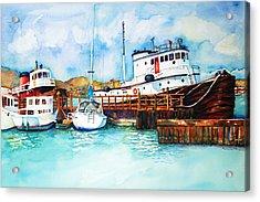 Sausalito Bay Acrylic Print