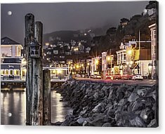 Sausalito Waterfront 2 Acrylic Print by Phil Clark