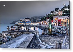 Sausalito Waterfront 3 Acrylic Print by Phil Clark