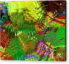 Savage Flowers Acrylic Print