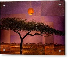 Savane Acrylic Print by Laurend Doumba