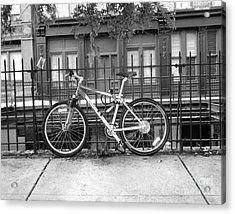 Savannah Bike  Acrylic Print by Janet Felts