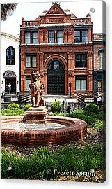 Savannah Cotton Exchange - A Acrylic Print