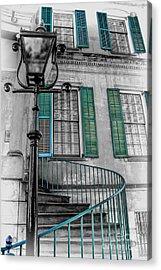 Savannah Green House Acrylic Print