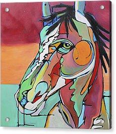 Acrylic Print featuring the painting Savannah  by Nicole Gaitan