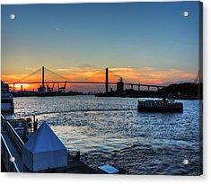 Savannah River 001 Acrylic Print