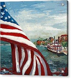 Savannah River Queen Acrylic Print by Ginette Callaway