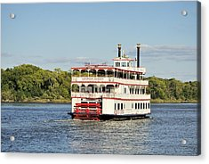 Savannah River Steamboat Acrylic Print