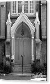 Savannah Synagogue B Acrylic Print by Jennifer Apffel