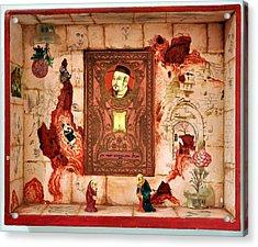 Save Milliard Chinese Jews Acrylic Print by Nekoda  Singer