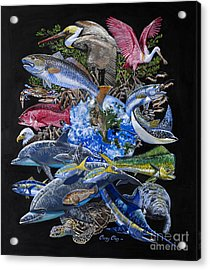 Save Our Seas In008 Acrylic Print