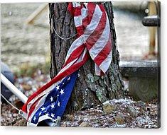 Save The Flag Acrylic Print