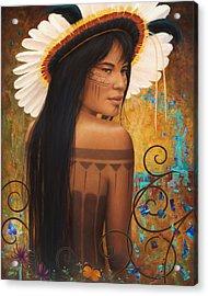 Save Xingu Acrylic Print by Sharon Irla