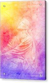 Savior  Acrylic Print by Erika Weber