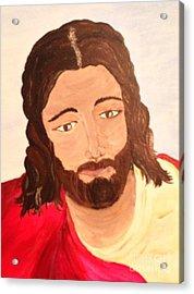 Savior Acrylic Print by Michelle Bentham
