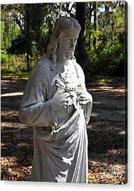 Savior Statue Acrylic Print by Al Powell Photography USA