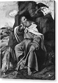 Savoldo Elijah And Raven Acrylic Print
