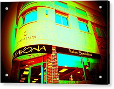 Savona Fine Italian Food And Wine 6 Acrylic Print