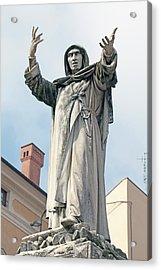 Savonarola Acrylic Print by Dirk Wiersma