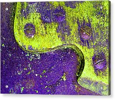 Hand Saw Q Acrylic Print