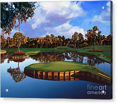 Sawgrass 17th Hole Acrylic Print