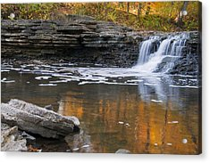 Sawmill Creek 3 Acrylic Print by Larry Bohlin
