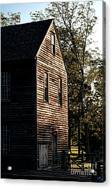 Sawmill Sunlight  Acrylic Print by Olivier Le Queinec