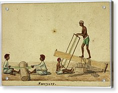 Sawyers Acrylic Print by British Library