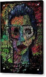 Say Good Nighty To Mr Bitey  Acrylic Print by Brett Sixtysix