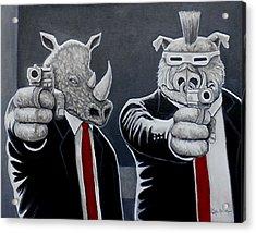 Say Turtles Again Acrylic Print by Al  Molina