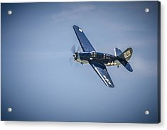 Acrylic Print featuring the photograph Sb2c Helldiver by Bradley Clay