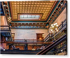 Acrylic Print featuring the photograph Sc State House by Rob Sellers