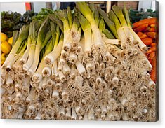 Scallions Acrylic Print by Art Ferrier