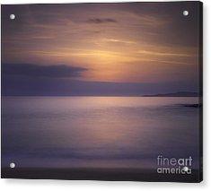 Scarasta Sunset No1 Acrylic Print by George Hodlin