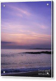 Scarasta Sunset No2 Acrylic Print by George Hodlin