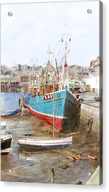 Scarborough Harbour Acrylic Print