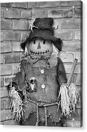 Scarecrow Acrylic Print by Dan Sproul