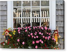 Scarecrows On Martha's Vineyard  Acrylic Print by Juergen Roth