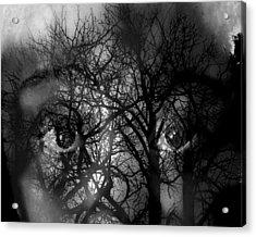 Scared Acrylic Print