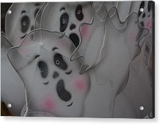 Scary Ghosts Acrylic Print by Patrice Zinck
